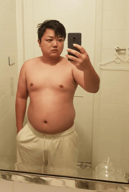 与沢翼ダイエット初期の画像