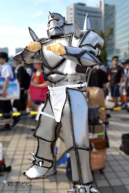 コミケ鋼の錬金術師のコスプレ