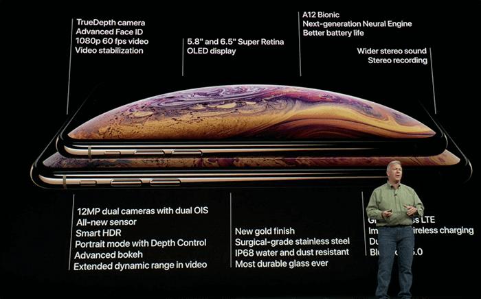 iPhoneXRの仕様