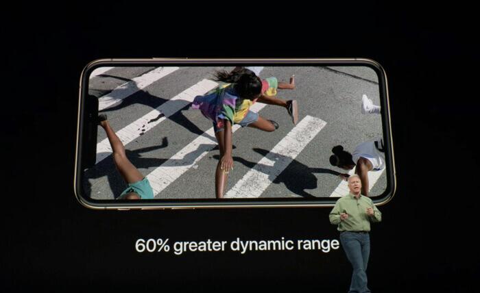 iPhoneXS Maxこれまでのディスプレイより60%大きい