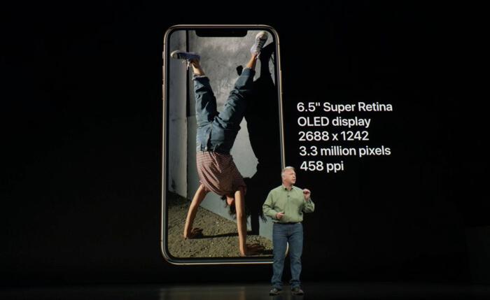 iPhoneXSのサイズ