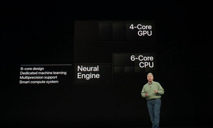 iPhoneXsの処理速度