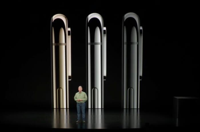 iPhoneXSの色バリエーション