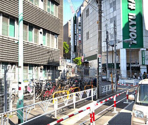 宇田川自転車駐車場