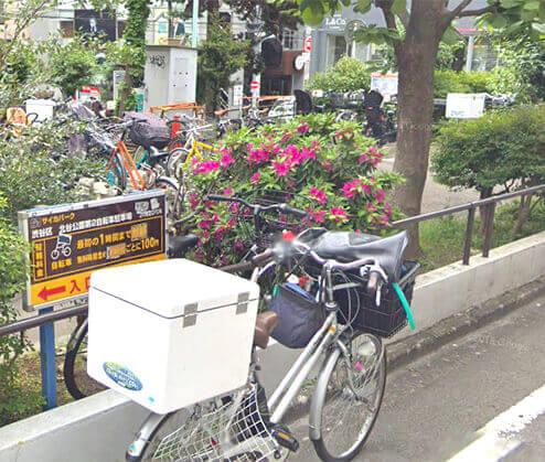 渋谷北谷公園第2自転車駐輪場