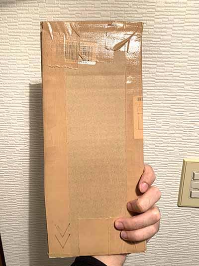 ネコポス発送可能サイズに収める梱包方法その3