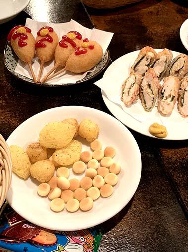 駄菓子バーは味が忙しい