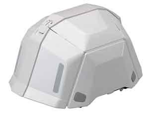 防災グッズ:折りたたみヘルメット