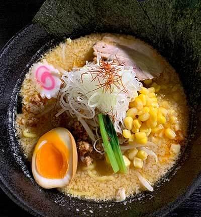 つけ麺岡崎の味噌ラーメンの画像