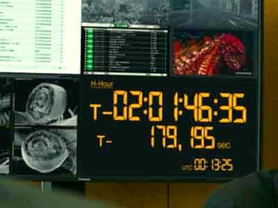 エヴァと同じような時計の画像