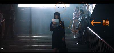 欅坂46の黒い羊MV考察「階段のシーン」