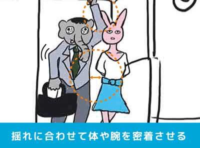電車内で痴漢を目撃したその2