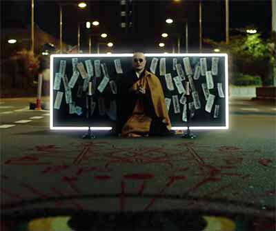 椎名林檎「鶏と蛇と豚」のMVストーリー意味解説「召喚するシーン」の画像