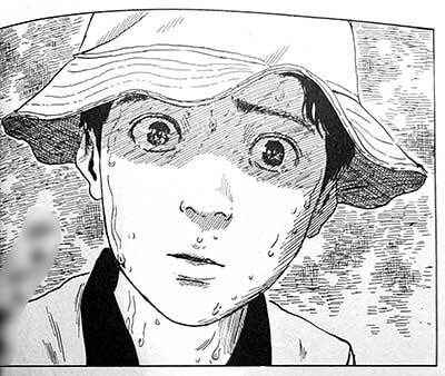 漫画「血の轍」の見どころその1:言葉以上に絵で語るシーン2