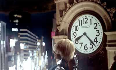 「目抜き通り」の銀座時計台:1:11秒の画像その1