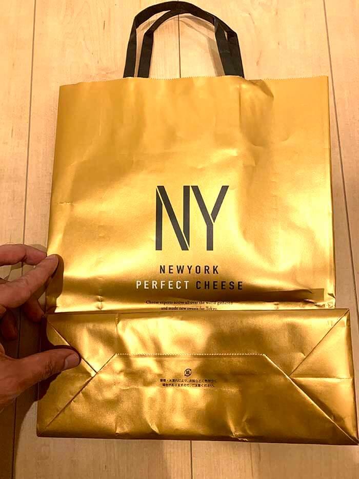 ニューヨーク・パーフェクト・チーズのショッピングバッグ