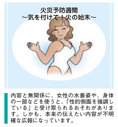 日本政府による男女共同参画の視点で見た公的広報ガイドラインその2