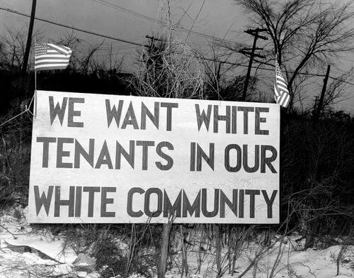 白人が黒人を差別する画像その5